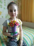 Букет от семьи Маши Пахтусовой подг.гр. Солнышко