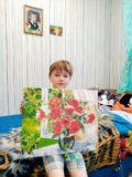 Картина от семьи Сергея Пахтусова подг.гр. Солнышко