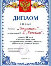 Академия знайки Шпунтики